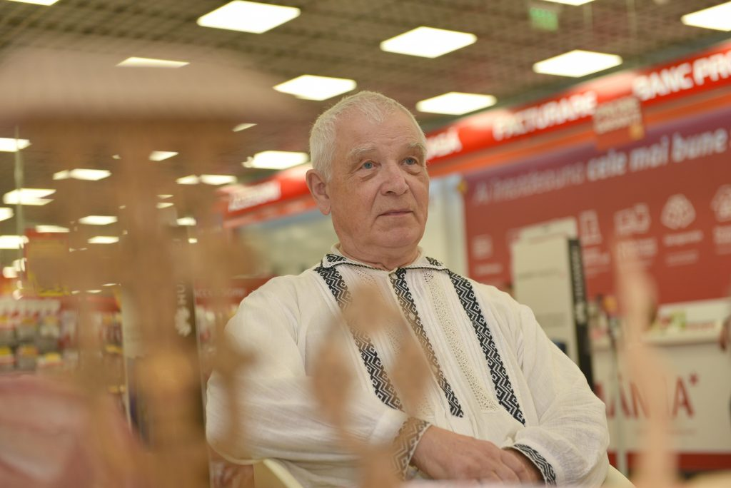 portret mestesugar Shopping City Ramnicu Valcea